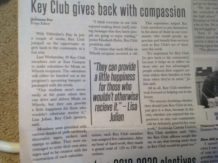 Key Club Story
